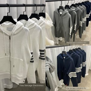 HLKnn Autumn 2020 new TB tho * waffle with ins trend BF Style Men's and women's coats coat Hoodie hoodie