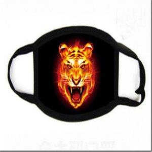 Tricoter en stock SCUA coloré imprimé Faric anti-poussière Masque Fa Famask gratuit Fedex Sipping # 750
