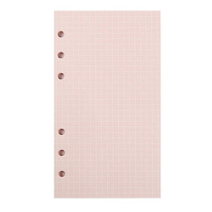 새로운 5 색 A6 느슨한 잎 단색 노트북 리필 나선형 바인더 색인 페이지 플래너 의제 필러 논문 노트북 액세서리 PPF2488
