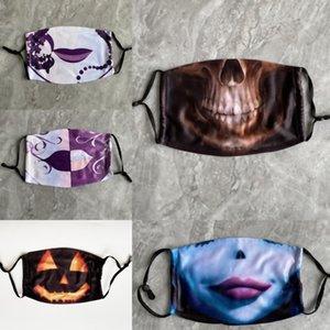 Panthère Halloween Black TYUF6 Pumpkin Film Dustoutes Masque Fantastique Cosplay Spoof Masques de masques pour hommes CLOWN Four pour la fête de résine