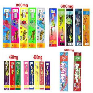 Sac de corde de 800 mg de 400 mg 420mg 420mg 600 mg de corde Emballage vide Sacs 500mg Package DHL gratuit
