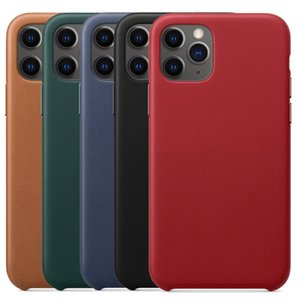 Original Real Leather Case For iphone 11 Pro Max Case Official Case For iphone Xs Max Xr 8 Plus 7 With Retail Box