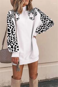 Толстовки Leopard Print Womens дизайнерские толстовки с длинным рукавом Черепаха женские женские пуловерные толстовки стильные женские повседневные