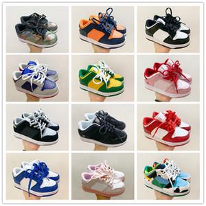2020 Nueva Chunky Dunk SB zapatos corrientes de los niños muchachas de los muchachos la manera ocasional zapatillas de deporte Pasear niños niño entrenadores deportivos