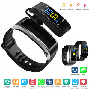 Talkband Y3 Plus Smart Watch With Earphone Heart Rate Sleep Monitor Bluetooth Call Music Smartwatch For Business Sports Headset