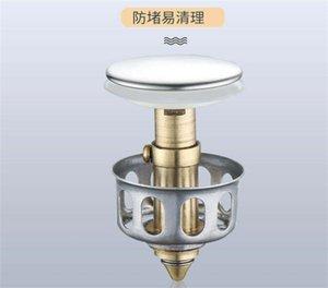 Basin Pop Up Drain Filter Bathroom Kitchen Practical Gadget Anti Clogging Sewage Sink Strainer High Quality 3 5xl J2
