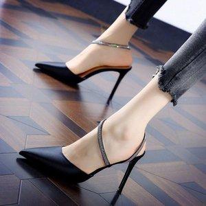 """Weibliche Schuhe NEUE Strass Sandalen zeigte dünne Ferse Sandale Französische Mädchen """"High-Heeled Schuhe Sexy Nachtclub Frauen"""""""