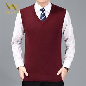 Sweater Men Pullover Cashmere Jumper Classic Sleeveless Sweaters Vest Mens Pull Homme Hiver Male Knitwear Clothes M-3XL