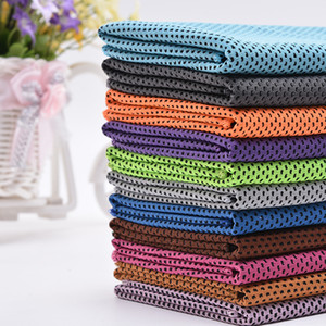 Cold Towel Outdoors Cooling Artifact Fabric Loop Towels Quick Drying Motion Woman Man Soft Facecloth 1 1tq K2