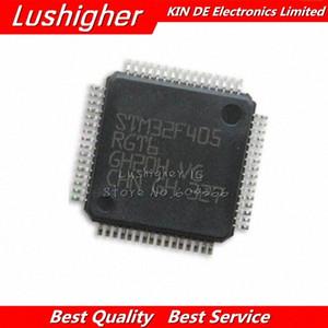 1 Adet STM32F405RGT6 QFP64 STM32F405 QFP 32F405RGT6 yeni ve orijinal IC p8Vt #
