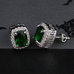 Luxury Designer Earrings Mens Hip Hop Jewelry Iced Out Diamond stud Earring Pandora Style Fashion Earings Gold Silver Women