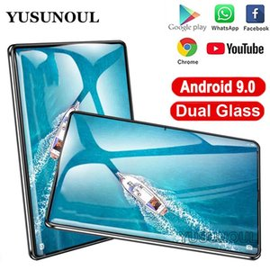 Dual Super Glass 10 inch Tablet Android 9.0 Dual SIM Cards Tablette 32GB Wifi Bluetooth Android Tablets PC with GPS Phone Call