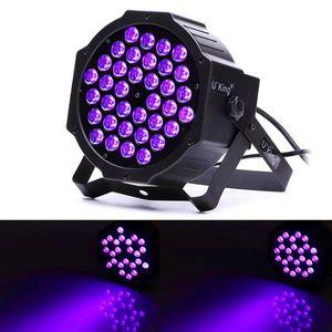new functions U'King 72W ZQ-B193B-YK-US 36-LED Purple Light Stage Light DJ KTV PUB LED Effect Light high quality Stage Lights Voice Control