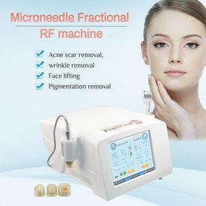 Os mais recentes fresco fracionário RF Calor Microneedle RF remoção do enrugamento da pele Micro agulha RF Cuidados Beauty Spa Salon Máquina