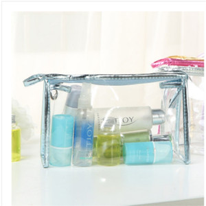 2020 Fashion Cosmetic Bag Transparent Mini Toiletry Wash Storage Vanity Case Portable Travel Women Briefcase 2 7zz G2