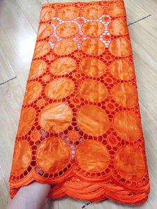 Bazin africano Riche tela últimas 2.5yards Brode tela africana del cordón Bazin boda de la tela de encaje para el vestido de Nigeria JC-A36