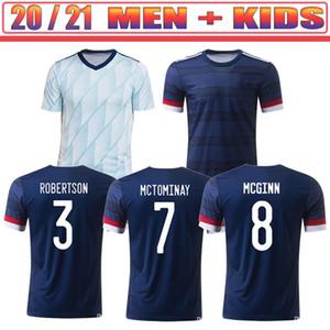 2020 Scotland soccer jerseys 2021 ROBERTSON FRASER football shirt set NAISMITH MCGREGOR CHRISTIE FORREST MCGINN Men Kids Kit uniforms