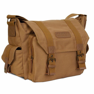 DSLR Camera Shoulder Bag Sling Photo Video sacos macios Bolsa de protecção pacote de viagem para Nikon Canon Sony Pentax Olympus Panasonic C1008