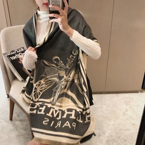 2020 New top High-quality 100% cashmere designer Scarf Top Women Man Luxury Scarfs Shawl free shipping uwh