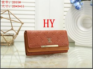 New Arrival Designer wallet Women Wallets Purse With Geometry Clutch For Female Long Zipper Phone Bag Fashion Coin Card Holder 0869