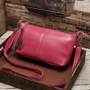 Genuine Leather Female Shoulder Bags Women Messenger Bag Summer handbags Female Crossbody Bag Natural Cowhide 2019 New