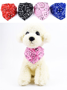 Регулируемый Pet Triargular Bandage Dog Sece Scarf Puppy Puppy Bandana Cat Woll Checkerchief Ribs Saliva Towel JK2012XB