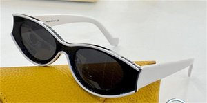 New fashion sunglasses G616487X01 special design color oval frame round lens avant-garde style crazy and interesting design