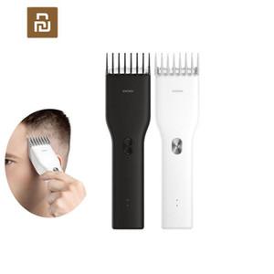 Youpin ENCHEN USB الكهربائية الشعر المقص اثنين من سرعة السيراميك القاطع الشعر شحن سريع المتقلب الأطفال المقص