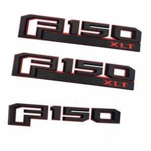 Auto Sticker 3D F150 XLT Модифицированная наклейка F150 Logo ABS ABS CAR Body Side Logo Наклейки пластиковая цена для наборов