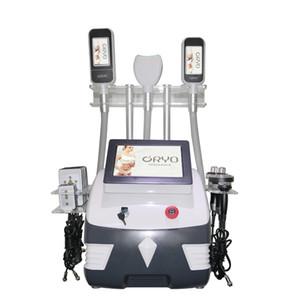 Nuova voce portatile 3 maniglia macchina cryolipolysis / grasso che dimagrisce macchina congelamento combinare doppio mento crio