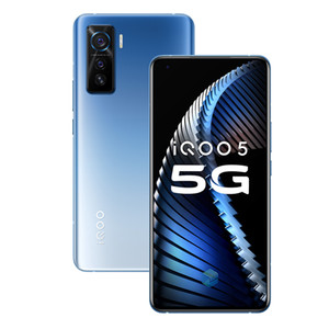 "Original Vivo iQOO 5 5G Mobile Phone 8 GB de RAM 128GB ROM Snapdragon 865 Octa Núcleo Android 6,56"" Full Screen 50.0MP NFC Wake face ID Cell Phone"