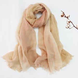 2020 NewAutumn abstracto del invierno bufanda del color Chales larga pendiente caliente bufandas del abrigo de Hijab 6 de Color Envío Gratuito