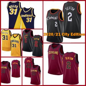 Collin 2 Sexton Jersey Basketbol ClevelandCavaliersKevin Darius Love Garland Isiah 3 Thomas Jersey IndianaPacersFormalar