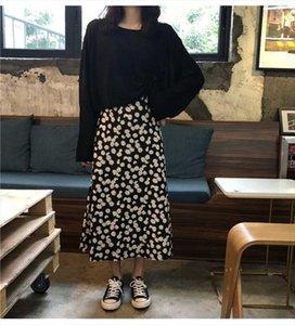 One Piece Set Autumn Suit Female Student Korean Loose Skirt Long Sleeve T Shirt Fashion Two Piece Tide