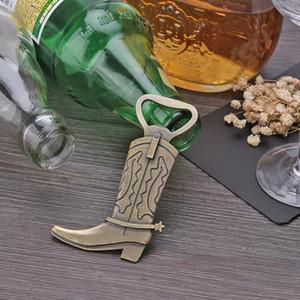 Apri bottiglia di birra in lega Decorazione di nozze favori stivali creativi Feather a forma di cucina domestica facile jllwmd