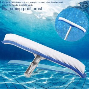 Piscina Clear Tool Spazzole Pennello Forte Alluminio Heavy Duty Piscina Pulizia Brush Accessori J081