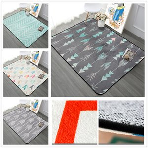 Nordic Simple Carpets For Living Room Home Bedroom Rugs And Carpets Fashion Music Floor Mat Coffee Table Area Rug Soft Velvet T200111