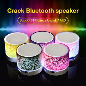 A9 Bluetooth Haut-parleurs avec 7color LED sans fil mains haut-parleur portable Bluetooth Mini carte gratuite TF USB haut-parleur FM Support SD PC