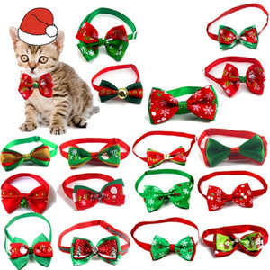 HOT Christmas series pet bow tie dog cat tie dog tie Christmas Gift Festival Wedding Decoration Christmas accessories T500377