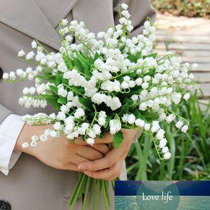 artificial white flowers home decoration lilies fake mini babysbreath flowers small gypsophila plastic flower for wedding garden