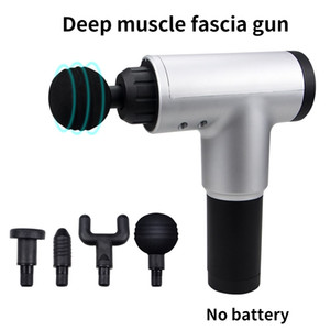 Muscle Massage Gun Massage Pistol Back Head Neck Massager for Neck Face Body Fitness Massage Machine Electric Vibrator