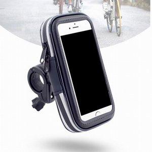 Велосипед телефон сумка непромокаемой сенсорный экран сотового телефона держатель велосипед Водонепроницаемая куртка телефон чехол для Iphone 6 7 PLUS 5.5inch