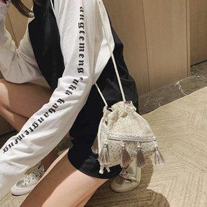 Luxus Handtaschen Frauen Taschen Designer Mori Kleine Tasche Chinesische Art Messenger Umhängetasche Kostüm Tuch Geldbörse Quaste Eimer