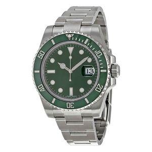 Верхняя керамическая бешель мужская 2813 зеленый автоматический механический нержавеющая сталь оригинальный скользящий зажима сапфира водонепроницаемая часы спортивный самоуправление