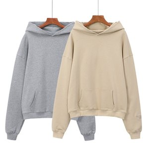 High quality FEAR OF GOD Essentials3M reflective letter men and women couple wear sweater High Street hat