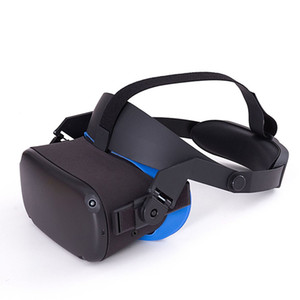 Per Oculus Quest regolabile VR Headset Headwear PRESSIONE-Alleviante antiscivolo VR Casco D Virtual Realty Glasses