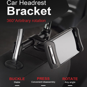360 Degree Rotation Aluminum alloy body Univerola Car Mount Stand Adjustable Mobile Tablet Holder For Phone laptop