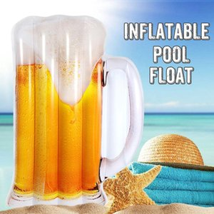 Floating bed beer pool inclined air bag summer swimming pool swimming pool hammock portable inclined gas bed
