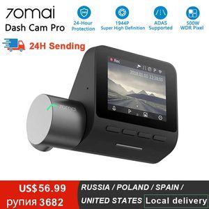 70mai Pro Dash Cam Full HD 1944P Auto DVR Kamera Recorder GPS Adas 70 Mai Wifi DVR Auto 24h Parkmonitor 140fov Nachtsicht