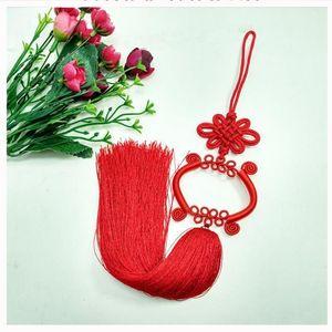 1 pcs Guanyin Bassin Chinois Knot Tassel Diy Bijoux Rideau Vêtement Home Textile Accessoires Décoratifs Artisanat Pendentif H Jllwdi